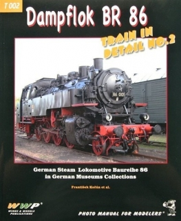 Dampflok BR 86 Train in Detail No. 2